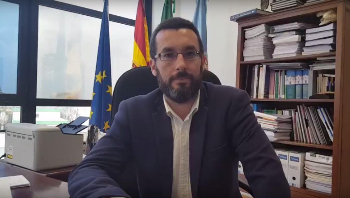 El alcalde Juan Franco.-AI