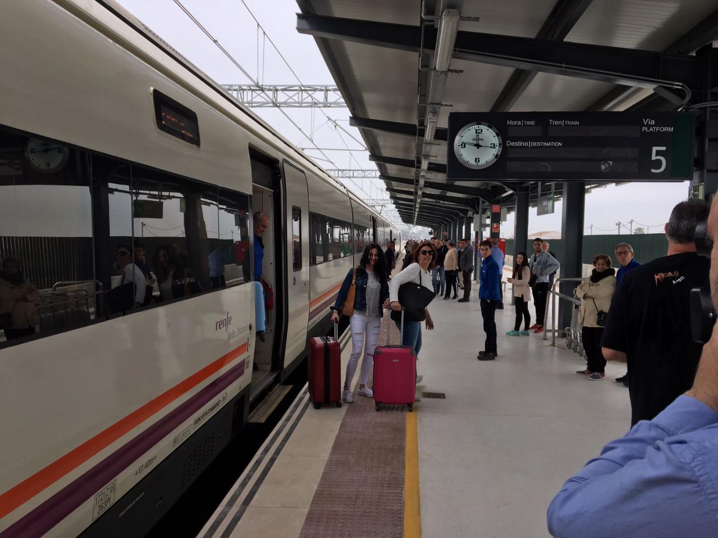 El Ministro De Fomento Inaugura El Jueves La Nueva Estación De Tren Andalucía Información Las Noticias De Punta Umbría