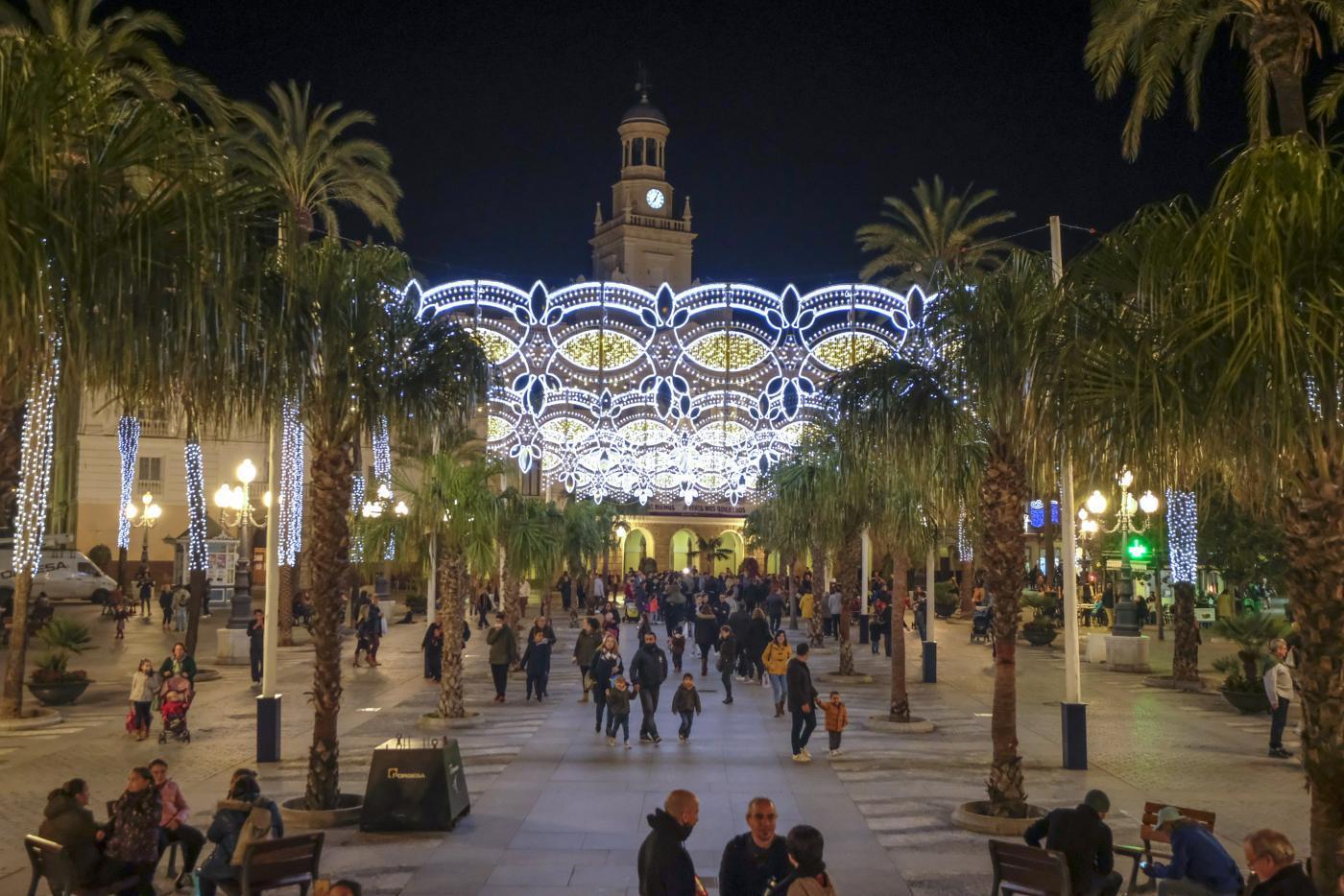 La inauguración del alumbrado de Navidad de Cádiz se hará el 26 de noviembre