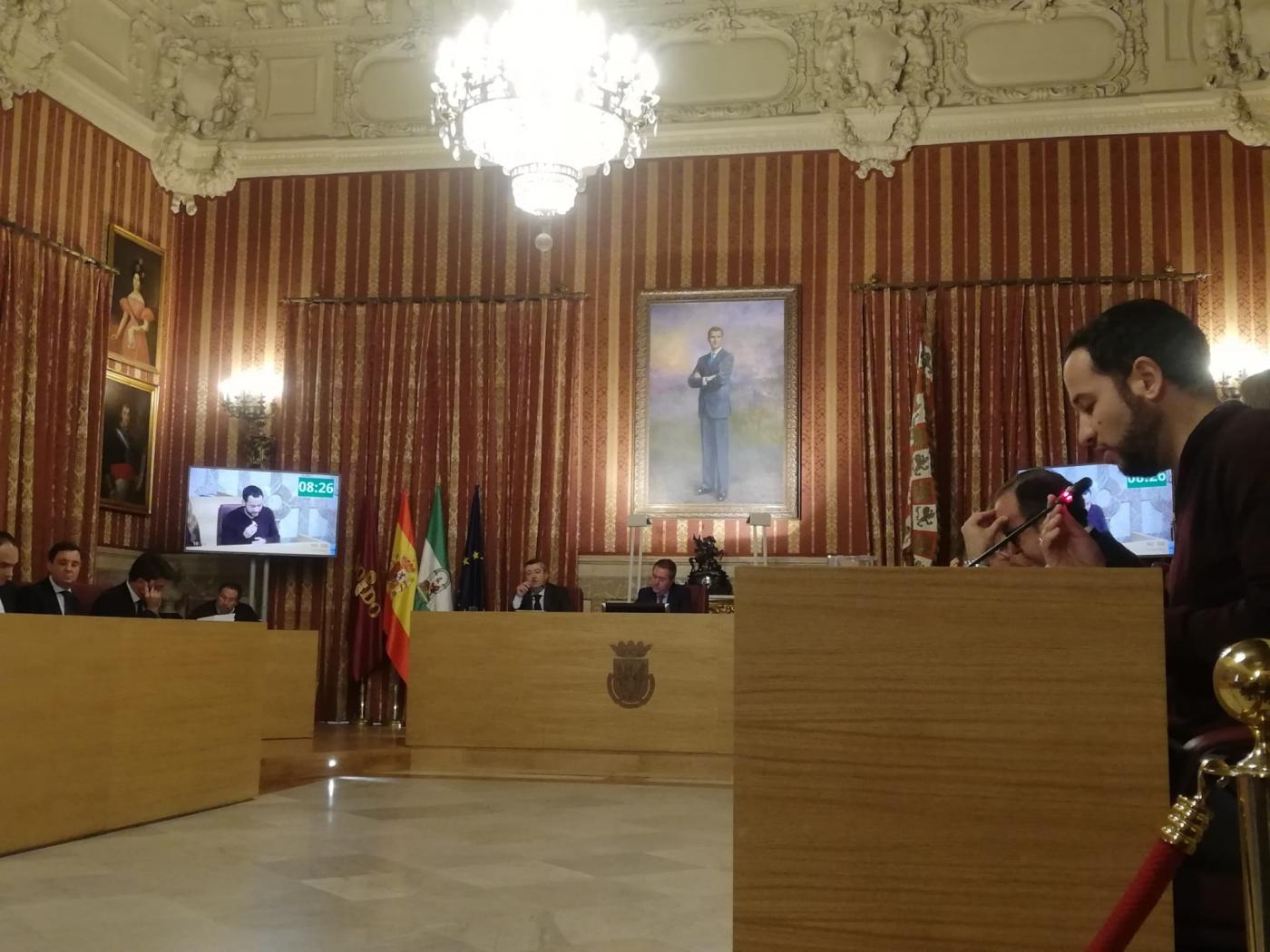 Pleno municipal de Sevilla. VS