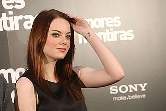 Emma Stone, la chica de moda en Hollywood, reniega de Facebook