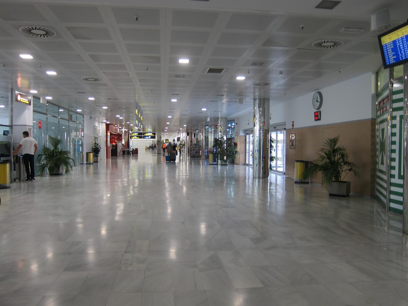 Aeropuerto de Almería. Europa Press
