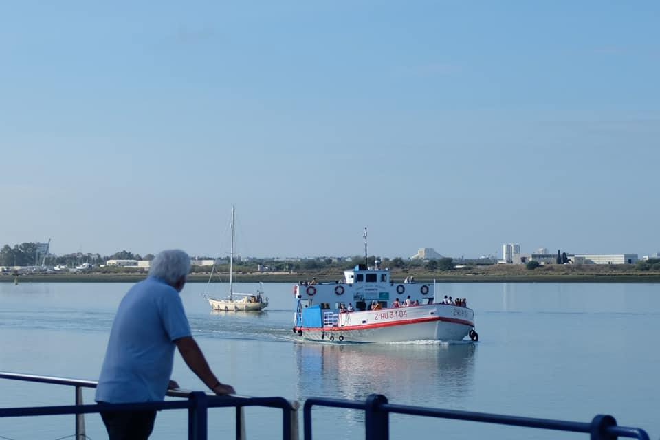 Se reanuda tras seis meses la conexión vía ferry entre Ayamonte y Portugal