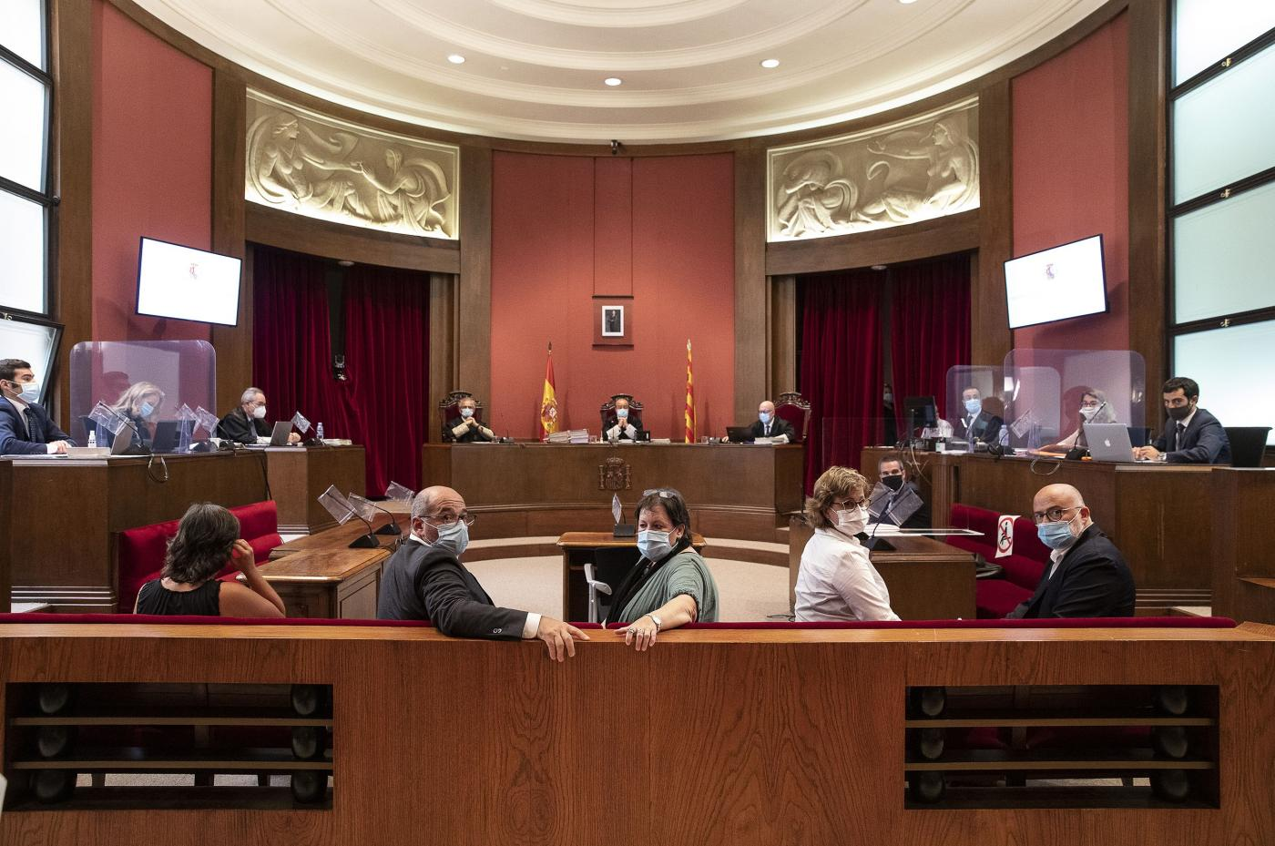 Juicio en el Tribunal Superior de Justicia de Catalunya. Europa Press