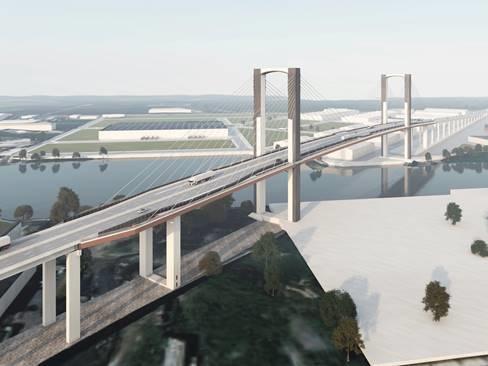 Ministerio y Puerto de Sevilla firman el acuerdo para el desvío de tráficos del Centenario