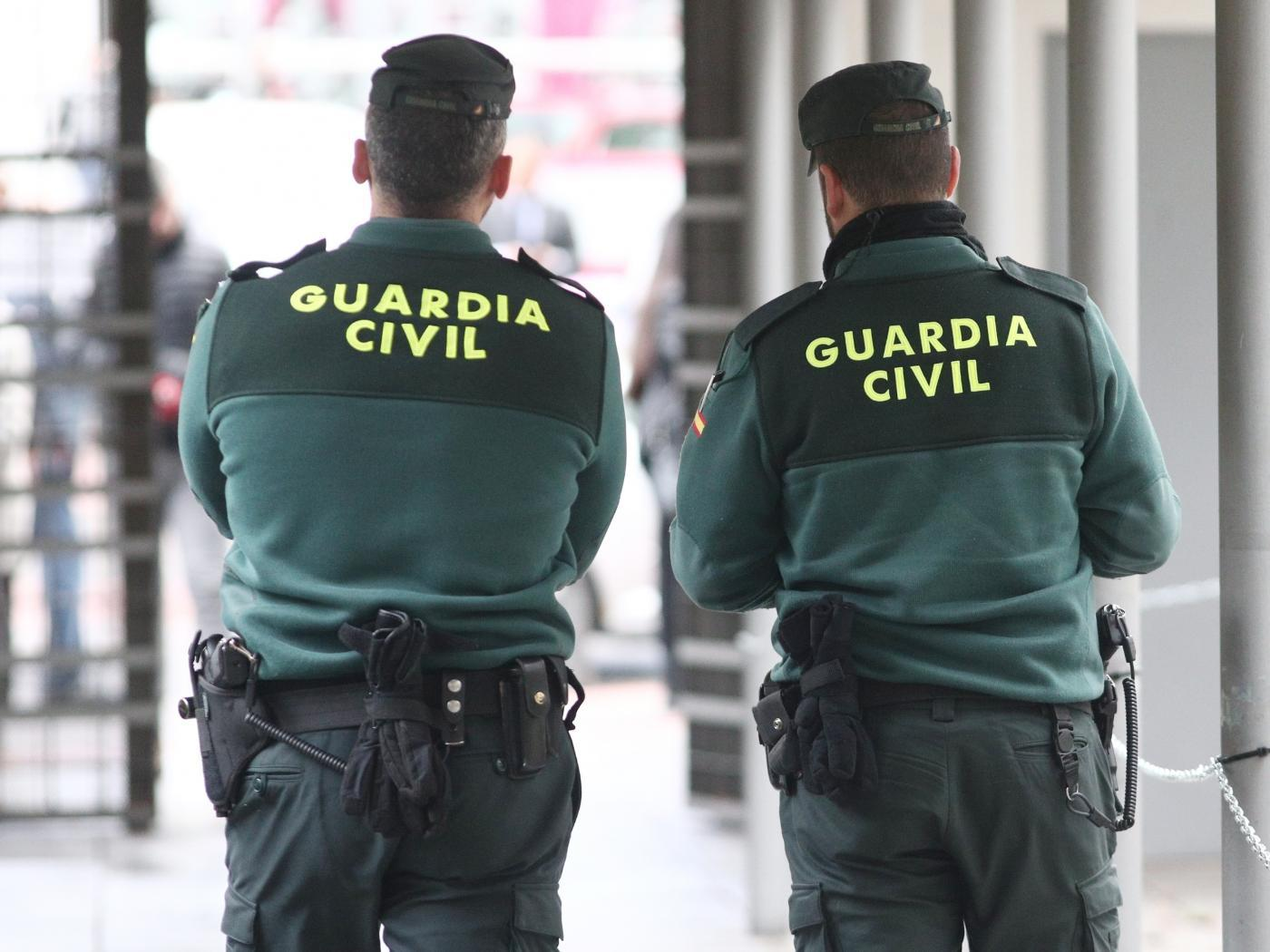 Agentes de la Guardia Civil. Europa Press