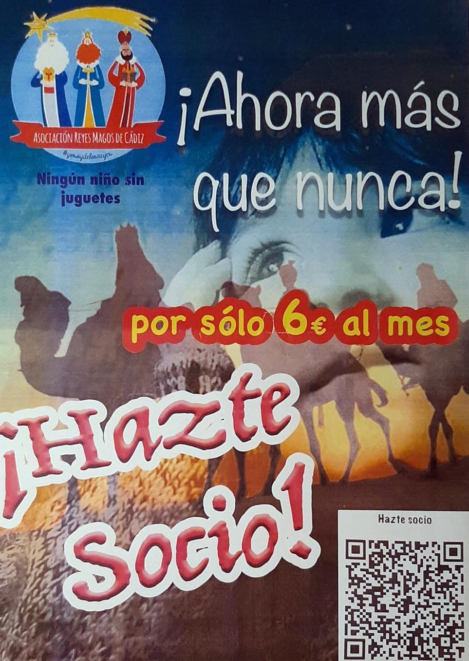 Cartel Asociación Reyes Magos.