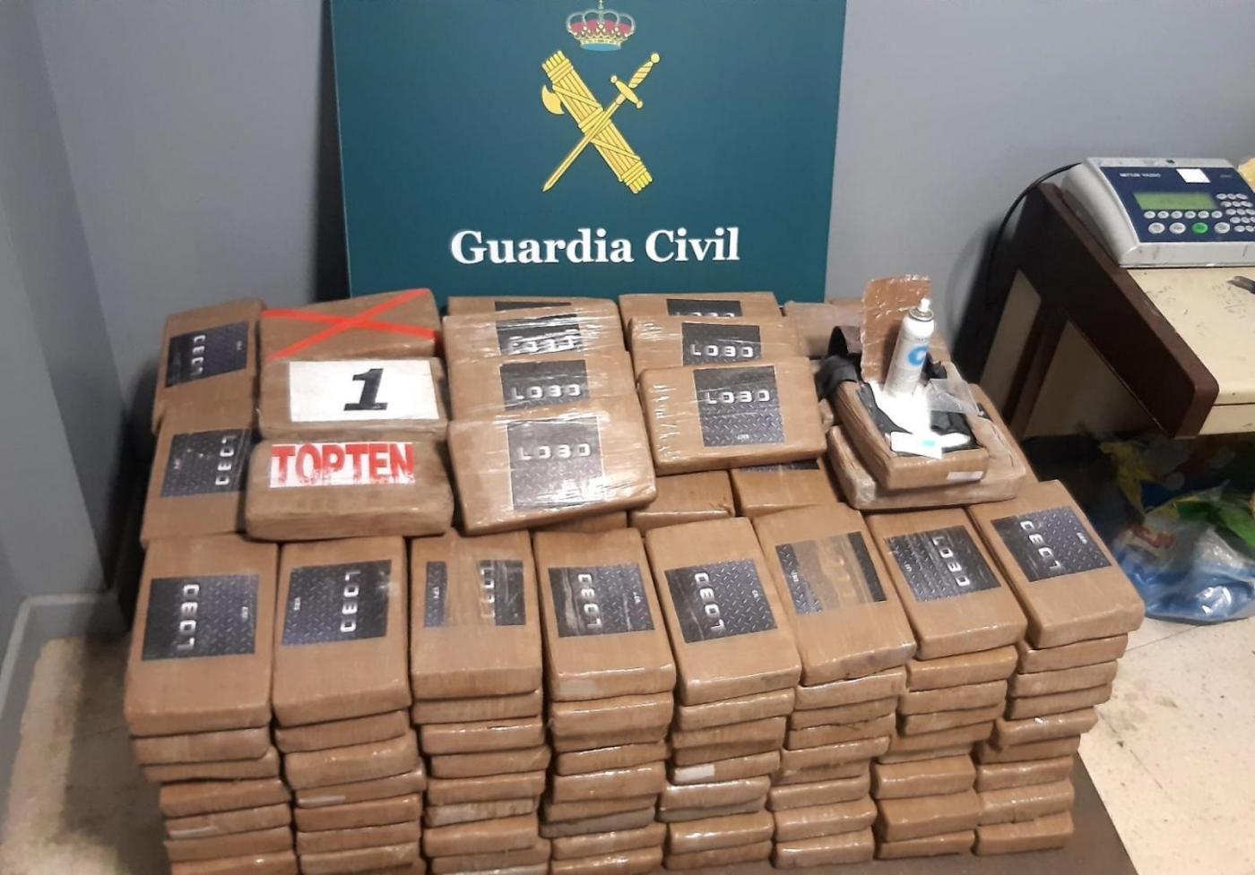 Intervenidos 270 kilos de cocaína ocultos en un contenedor en el puerto de Algeciras