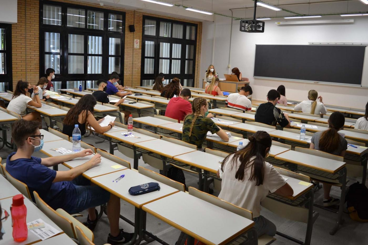 Examen de Selectividad. Europa Press