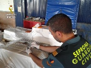 La Guardia Civil interviene casi 40.000 kilos de pescado ilegal durante 2020
