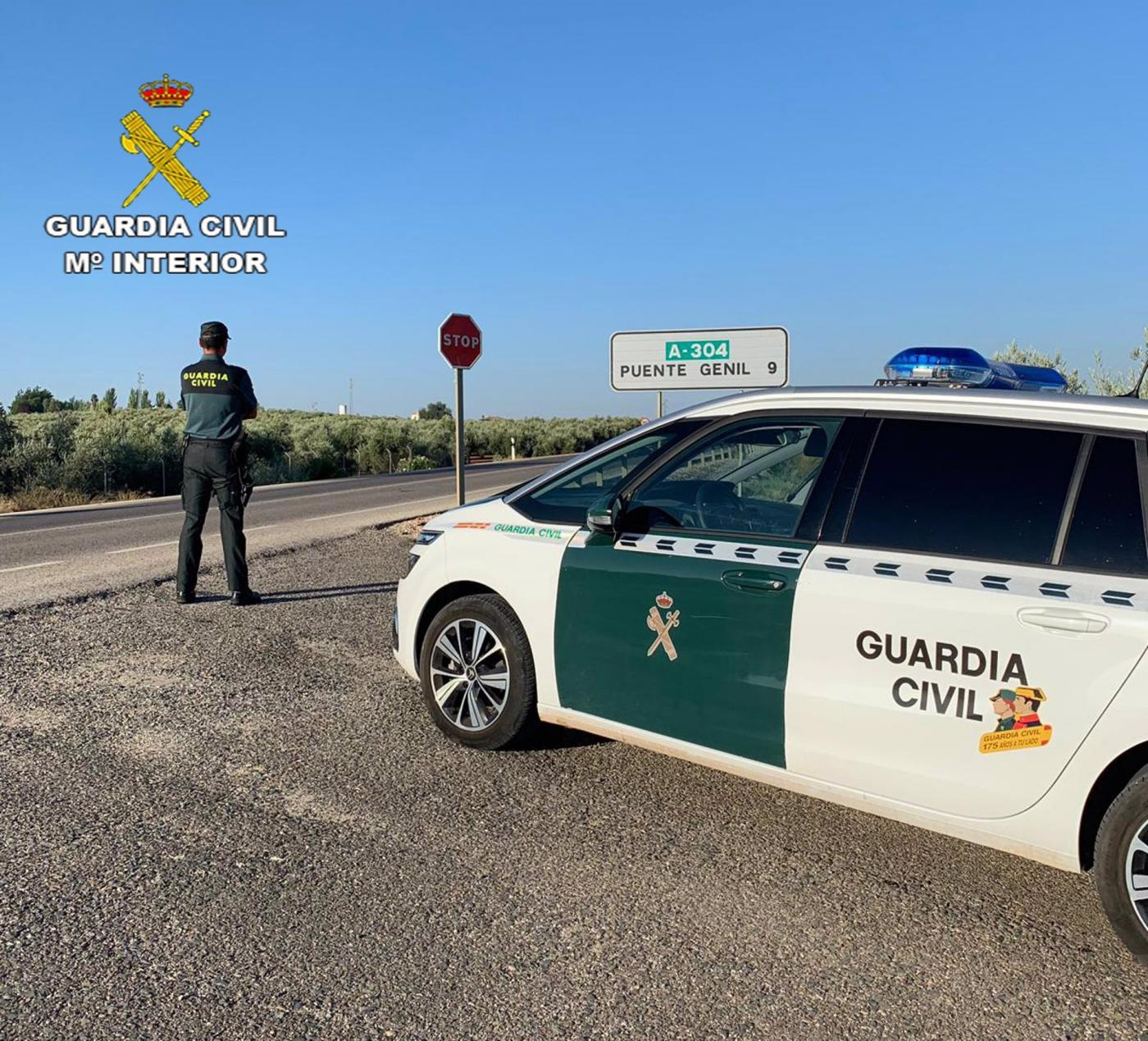 Guardia Civil en Puente Genil. EP
