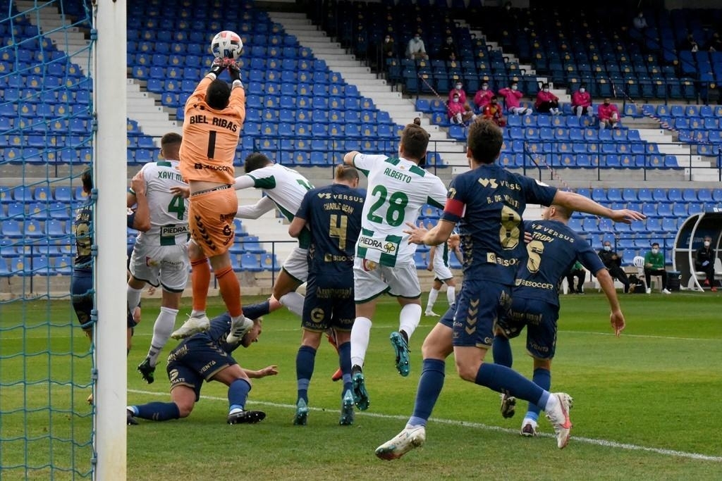 El Córdoba CF no supera al UCAM Murcia y sale del play-off de ascenso (1-1)