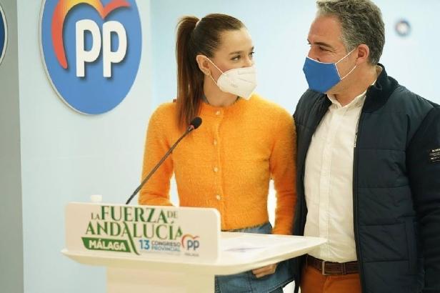 Bendodo destaca que el proyecto político del PP ha situado a Málaga como referente mundial