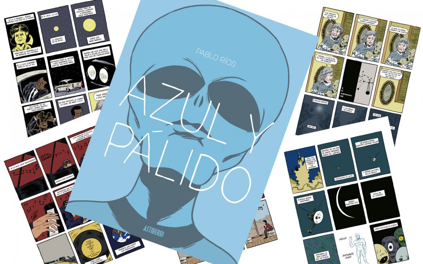 Astiberri reedita 'Azul y pálido', primera publicación del algecireño Pablo Ríos