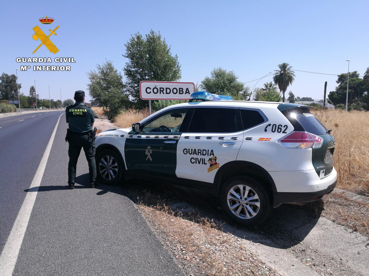 Una patrulla de la Guardia Civil en Córdoba. Europa Press