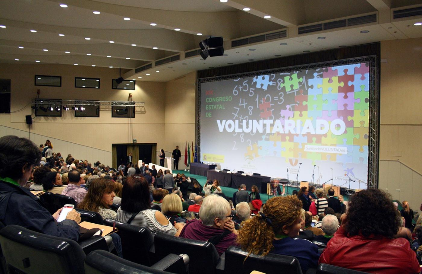 Congreso estatal de voluntariado en Sevilla. Archivo
