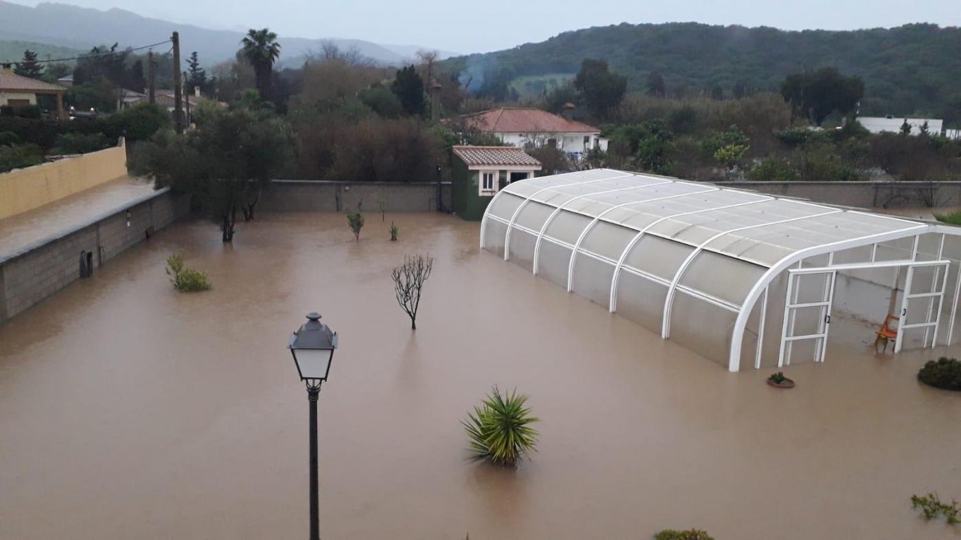 Inundaciones en el Campo de Gibraltar.