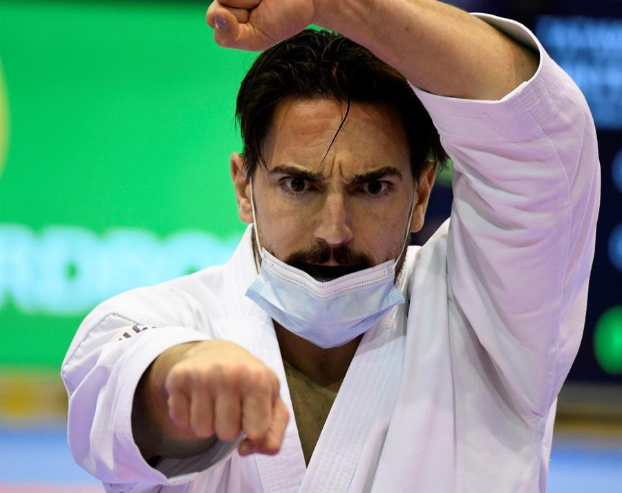 El karateka Damián Quintero.