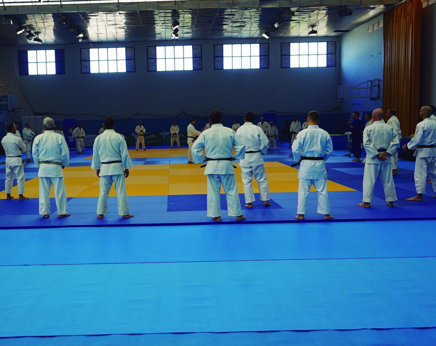 La Unión Europea de Judo premia a la Federación Andaluza por el seminario de Arcos