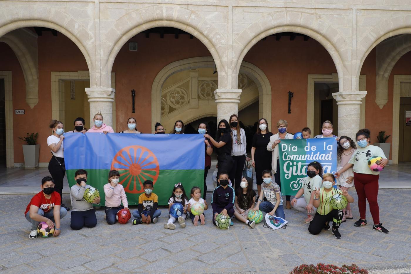 Rota celebra el Día Internacional de la Comunidad Gitana