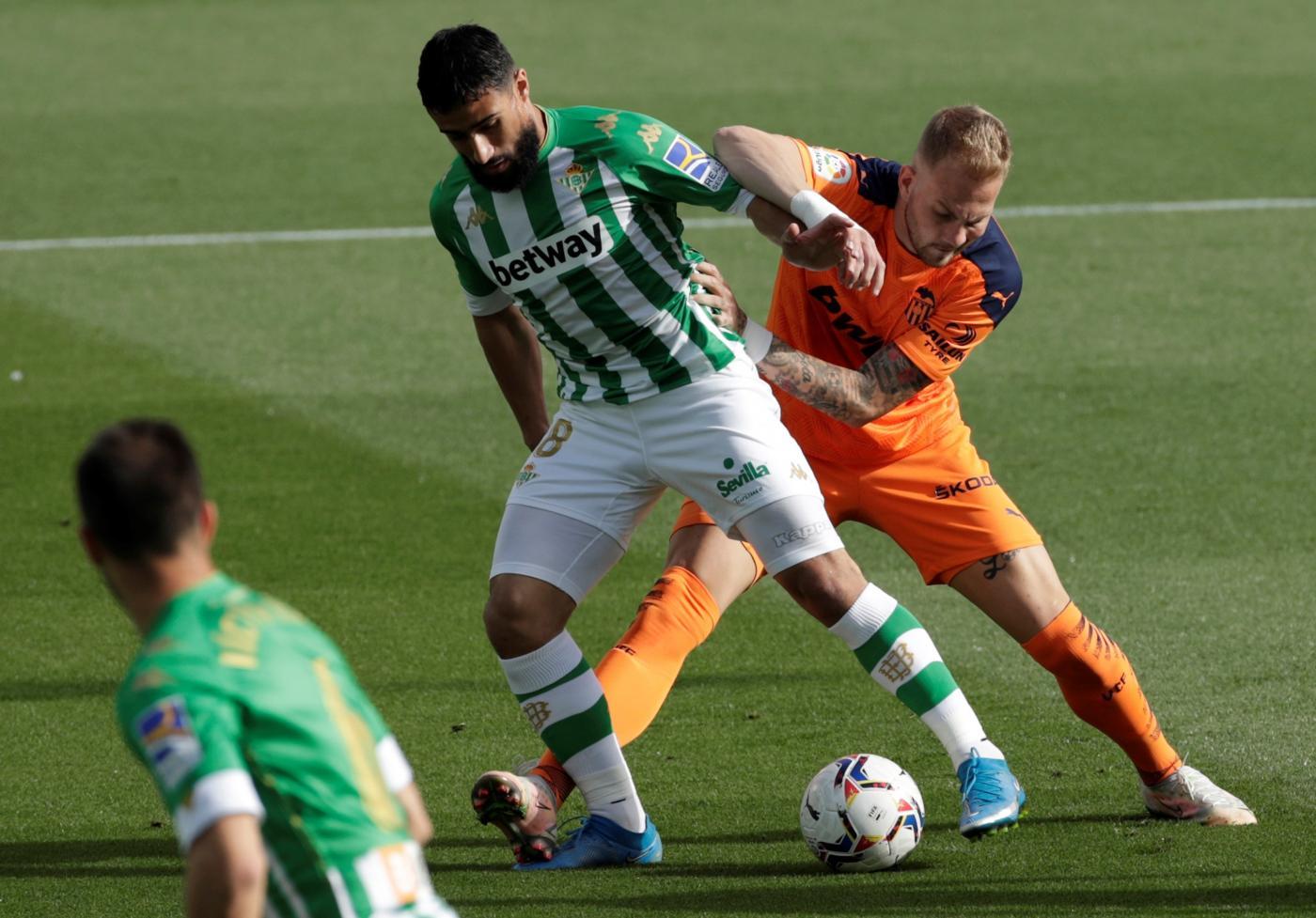 El Real Betis intentará prolongar la buena racha ante el Valencia