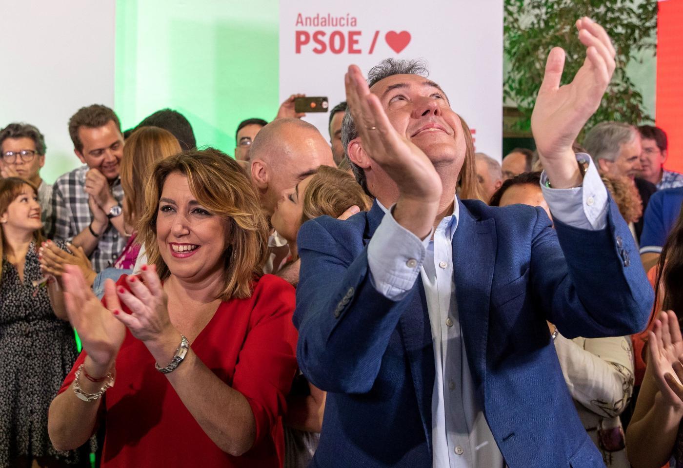 La pugna entre Susana Díaz y Juan Espadas abre debate en el PSOE.
