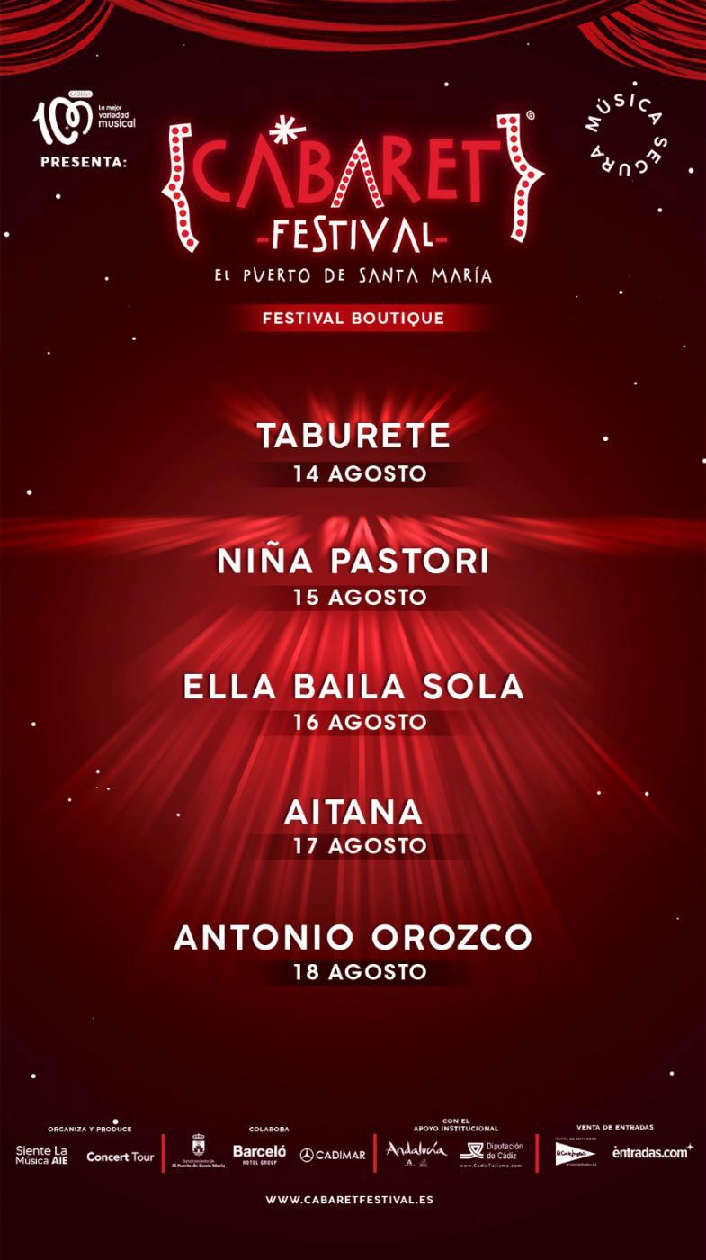 Cabaret Festival de El Puerto 2021.