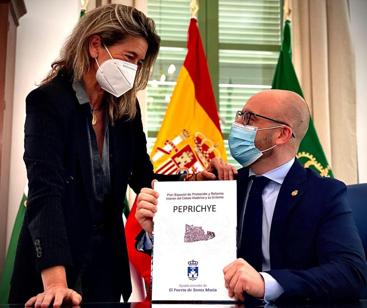 Germán Beardo ante la aprobación del Peprichye.
