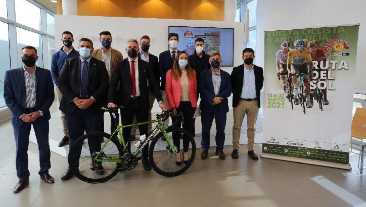 La Vuelta Ciclista Andalucía Ruta del Sol 2021 arrancará en Mijas el próximo 18 de mayo