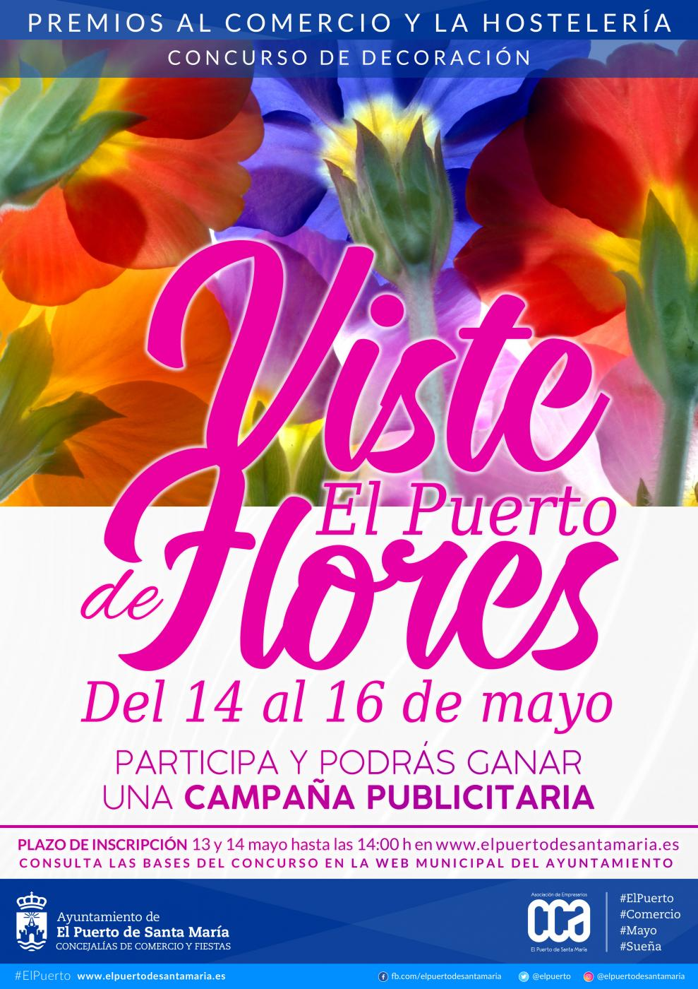 Viste El Puerto de flores.