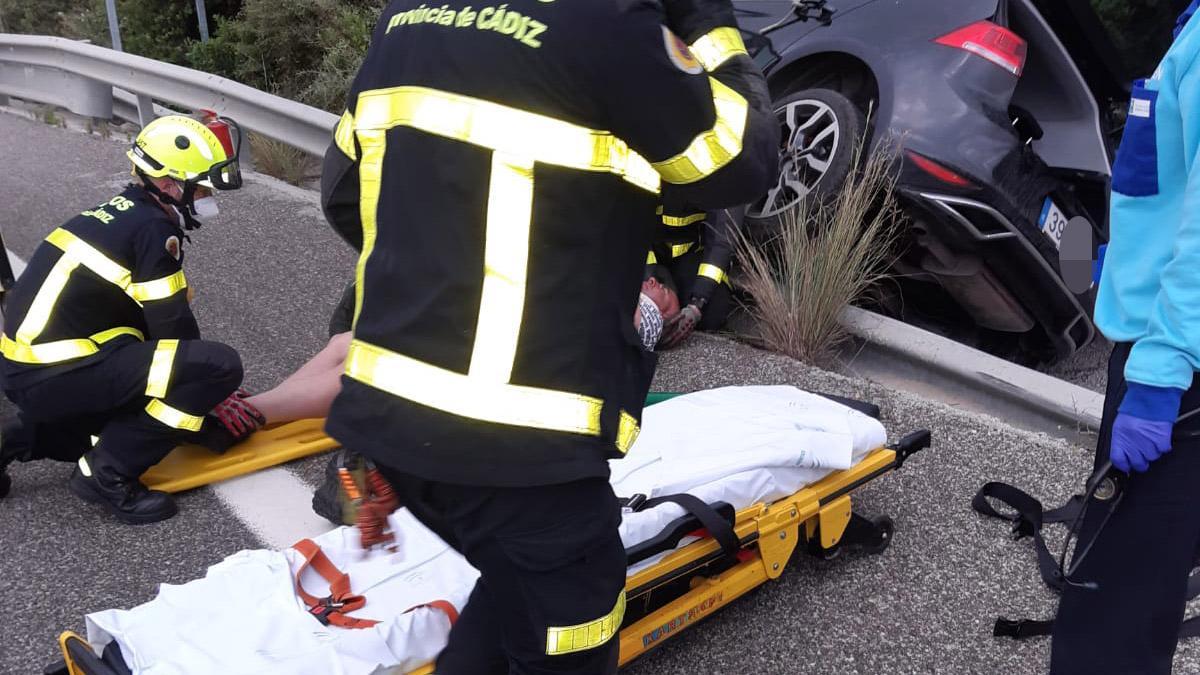 Accidente en La Línea.