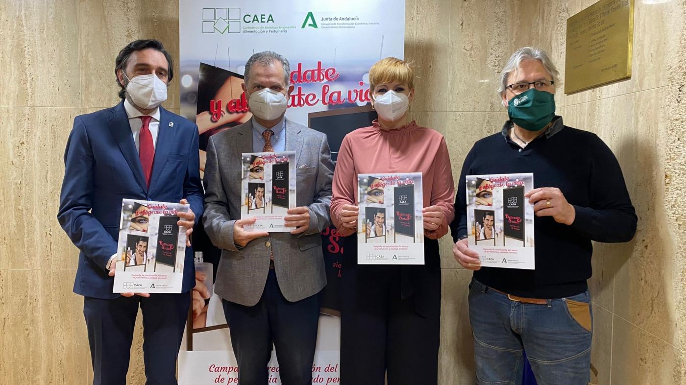 Apoyan la campaña para reactivar el sector de perfumerías en Jaén