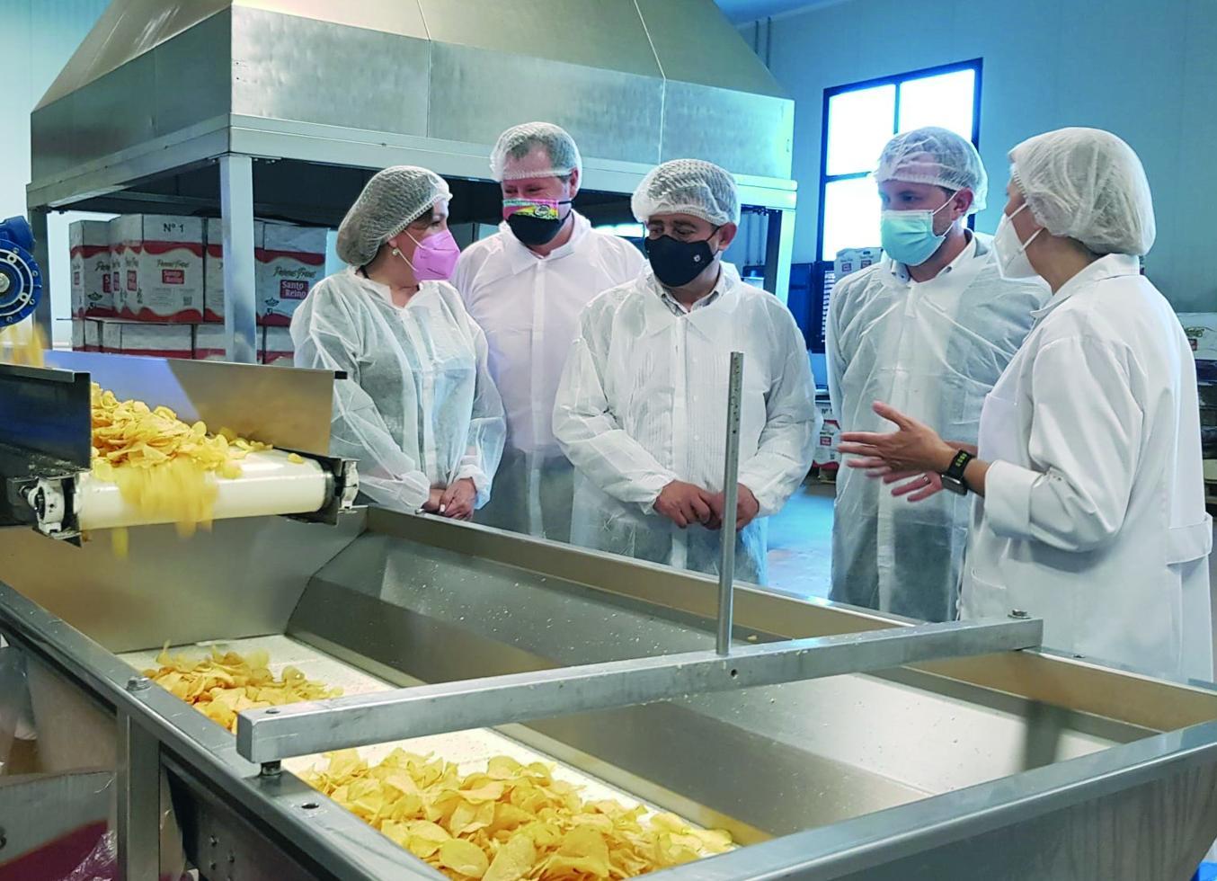 'Paradores' consumirá patatas fritas de Jaén
