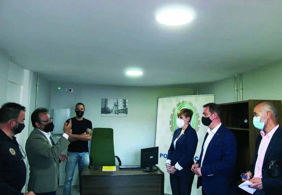 La nueva Oficina de Policía Local de Jaén abre en el Bulevar