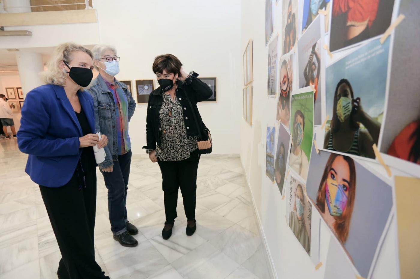 Expuestas las obras de los alumnos de Arte del IES Pintor Juan Lara