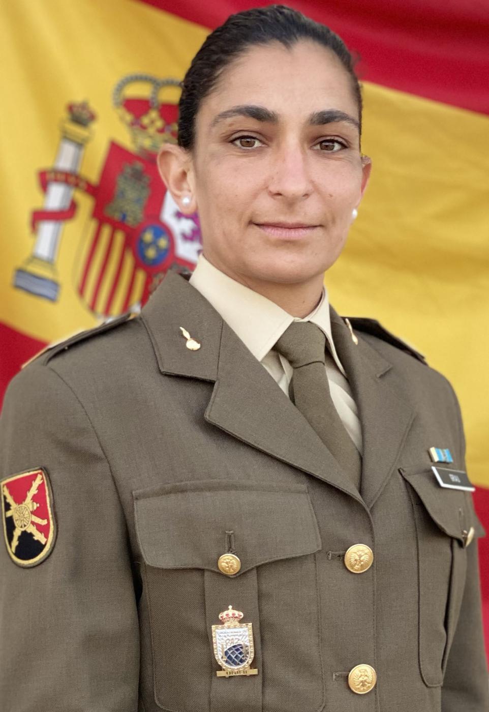 Sargento Débora Grau.