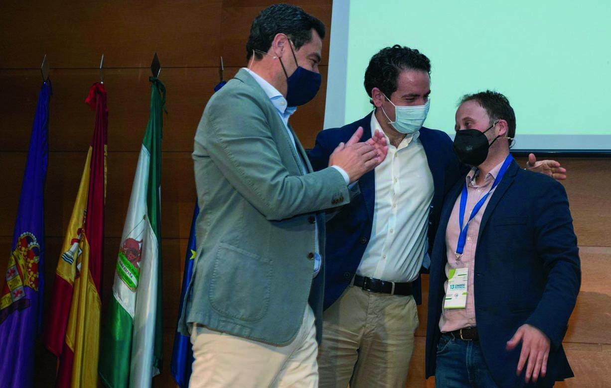 Erik Domínguez ha sido elegido presidente provincial del PP en Jaén