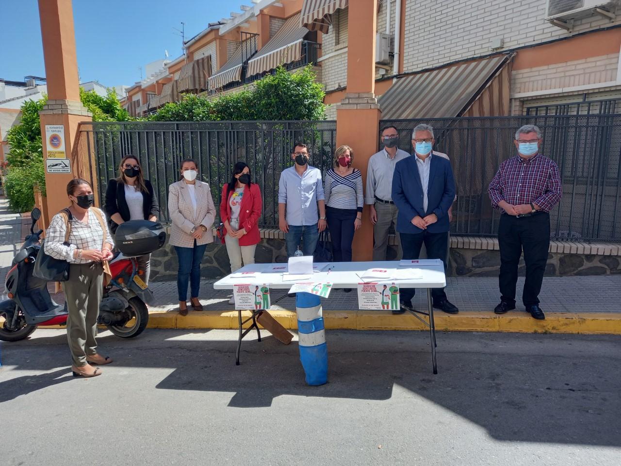 Esteban Morales acusa a la Junta de recortar servicios sanitarios en Puente Genil