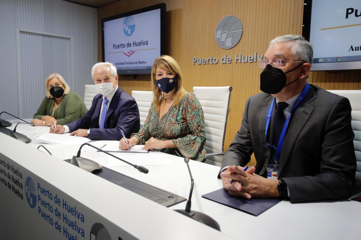 El Puerto firma con el SAS un protocolo para crear una Plataforma Logística Sanitaria