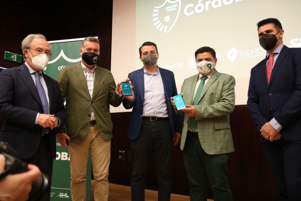 ¡Ya está disponible CórdobaFutsapp!, la app del Córdoba Patrimonio de la Humanidad