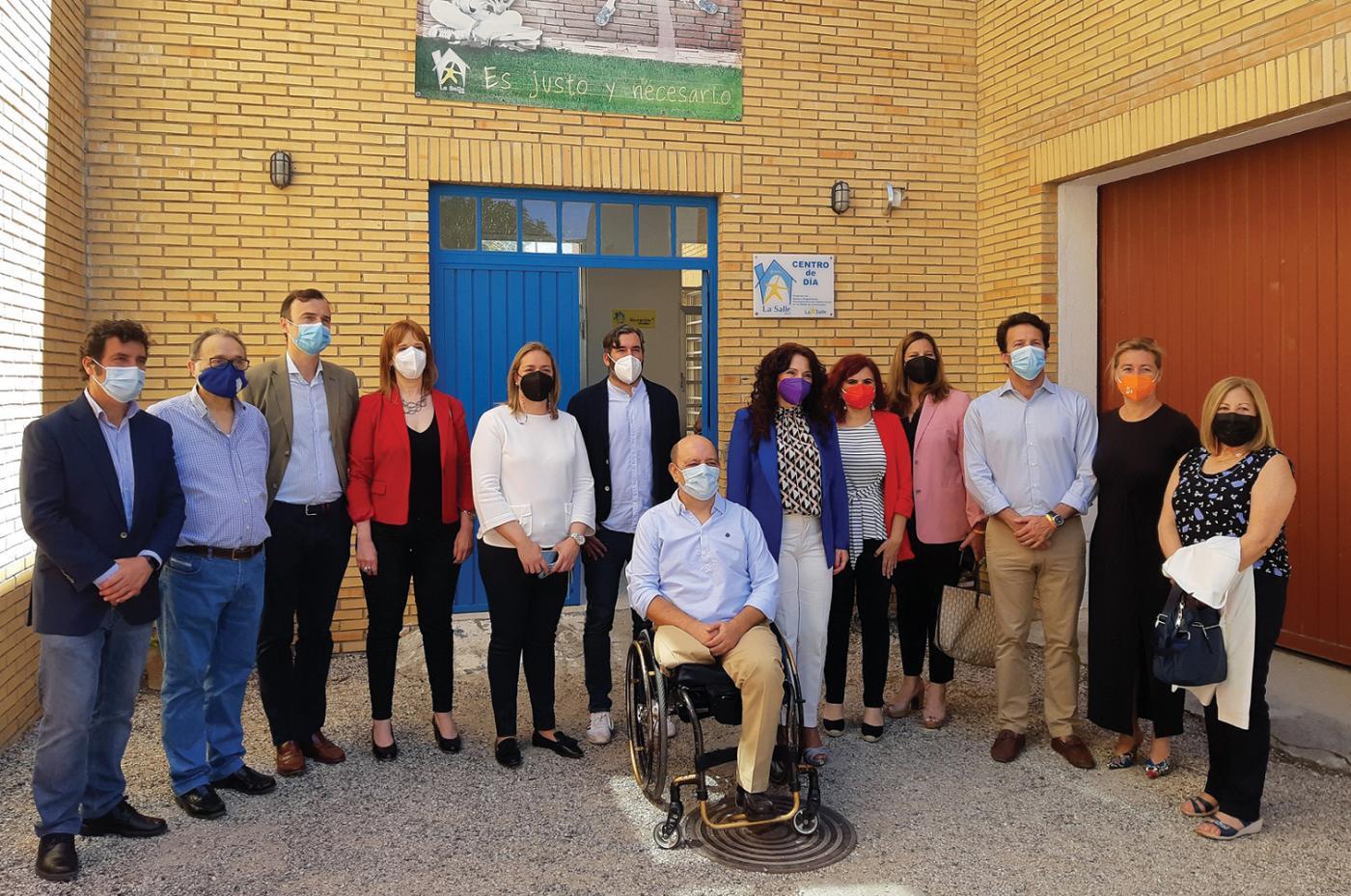 La Junta respalda el trabajo integrador de Hogar La Salle