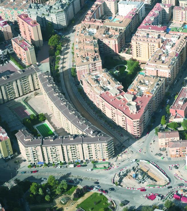 Una obra rápida para un tranvía cautivo en Jaén