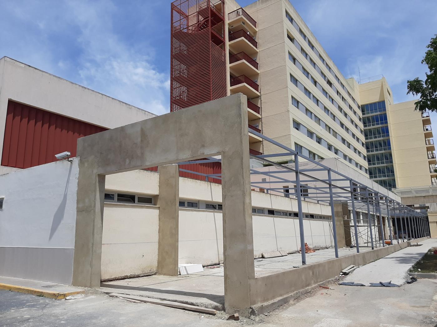 Obras de mejora y ampliación de Urgencias en el hospital Infanta Elena