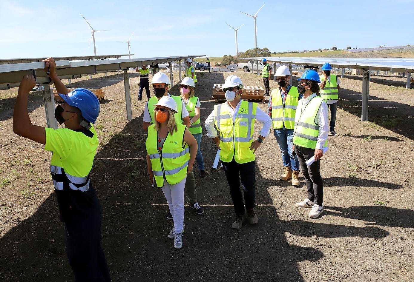 El parque fotovoltaico de Las Quinientas entrará en funcionamiento a final de año