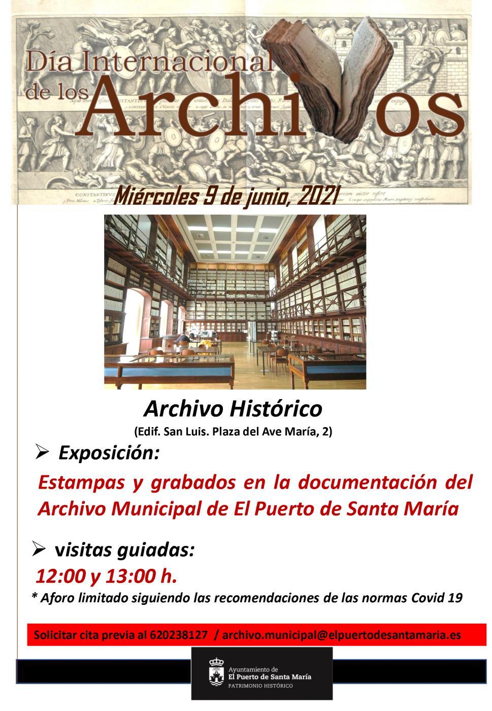 CARTEL DÍA INTERNACIONAL DE LOS ARCHIVOS.
