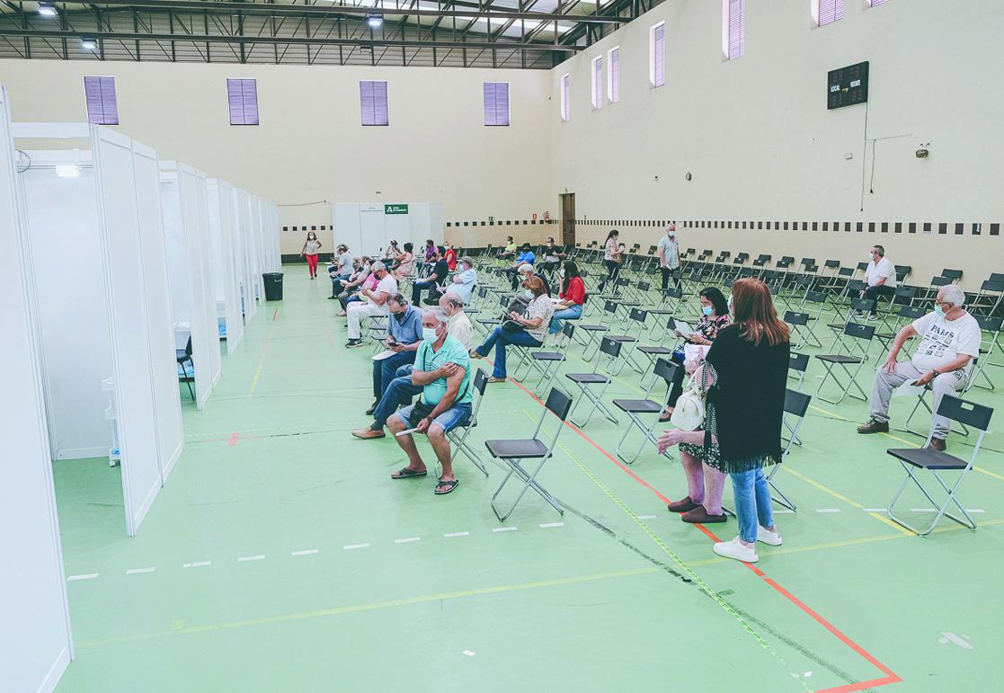 Los hospitalizados por covid 19 vuelven a superar la veintena en Jerez