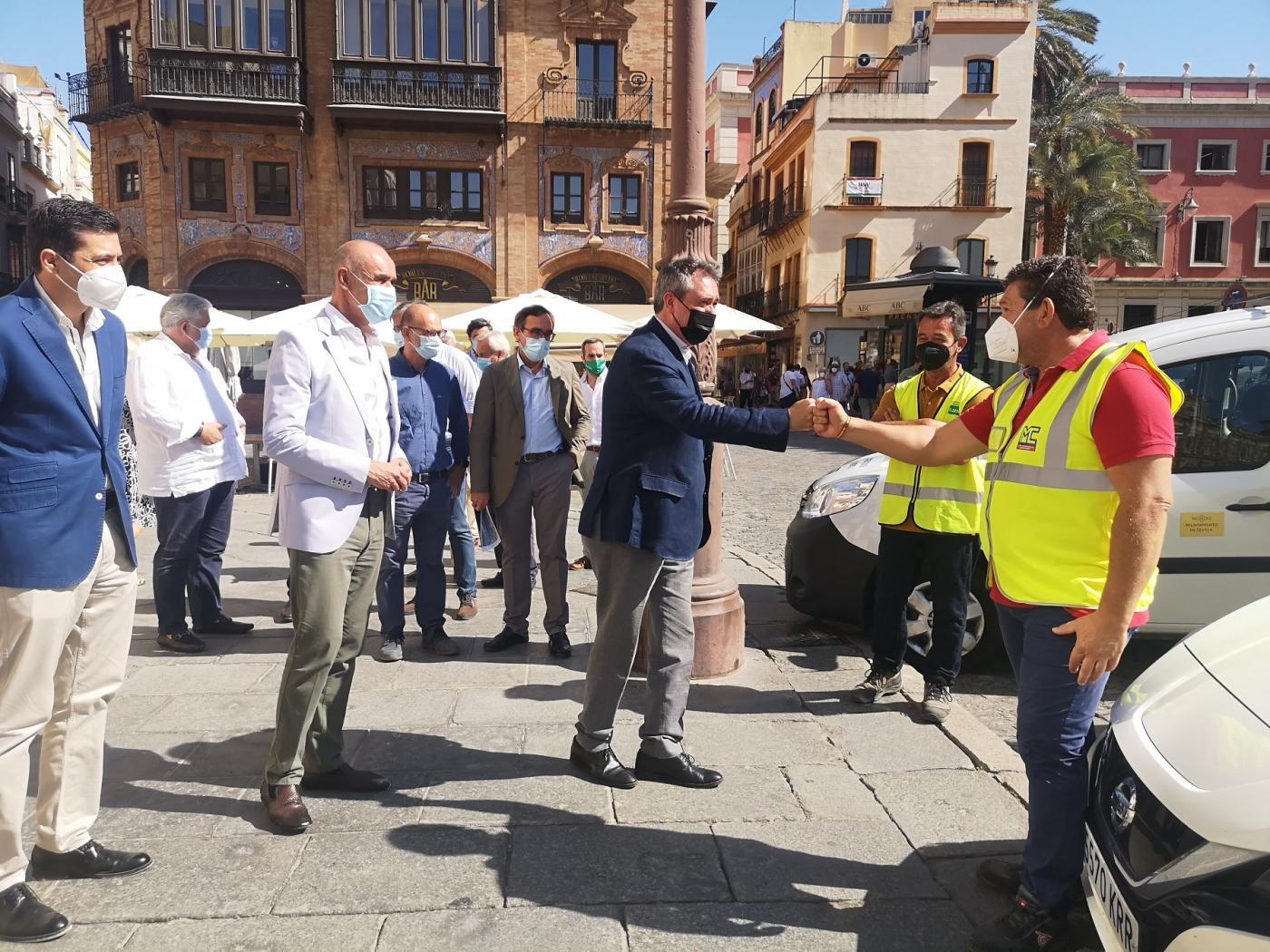 Presentación del nuevo contrato de mantenimiento y conservación del viario público.