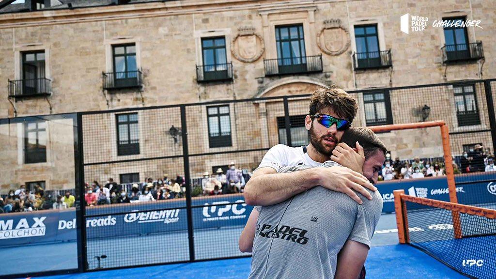Javi Garrido y Lucho Capra ganan el Lerma Challenger