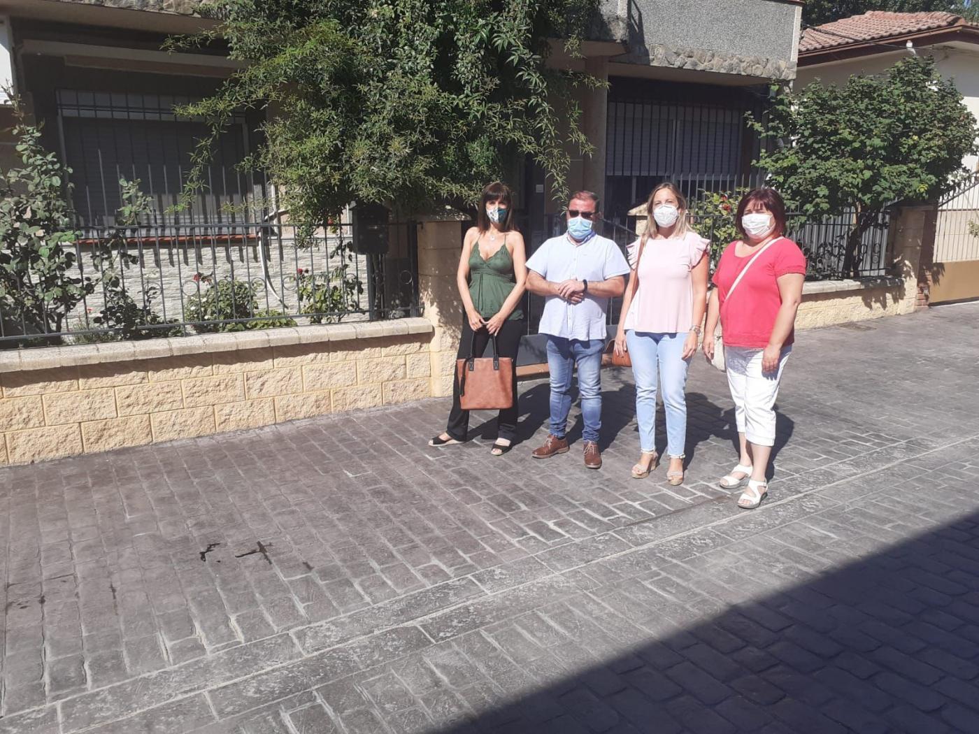 Diputación invierte más de 47.000 euros en acondicionamiento de varias calles de Frailes