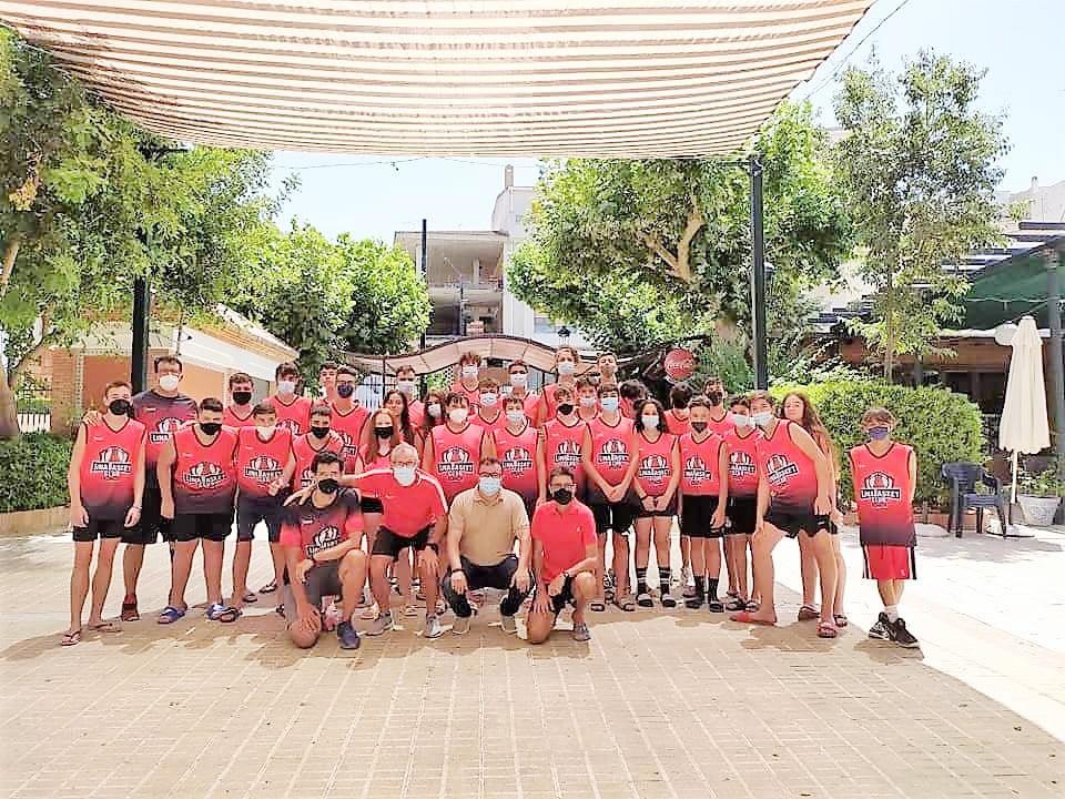 El Linabasket participa en el II Campus de Baloncesto Castillo de Locubín